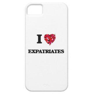 Amo a expatriados iPhone 5 carcasa