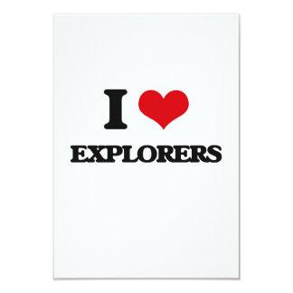 Amo a exploradores anuncio personalizado