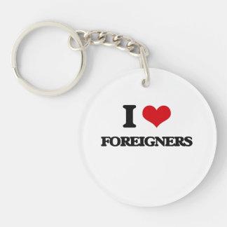 AMO a extranjeros Llaveros