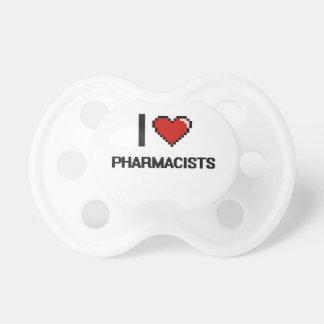 Amo a farmacéuticos chupetes de bebe
