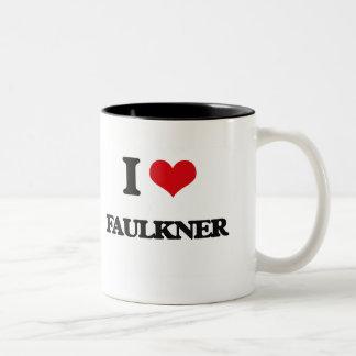 Amo a Faulkner Taza Dos Tonos