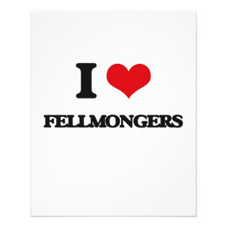 Amo a Fellmongers Tarjeta Publicitaria