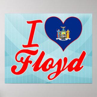 Amo a Floyd, Nueva York Poster