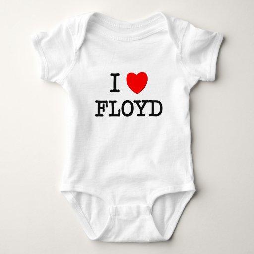 Amo a Floyd Playeras