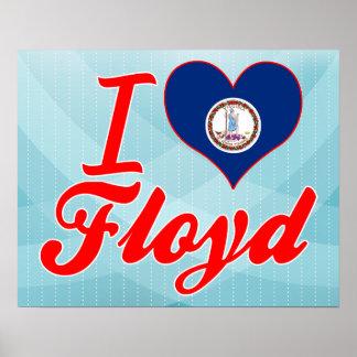 Amo a Floyd, Virginia Poster