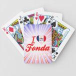 Amo a Fonda, Iowa Baraja Cartas De Poker