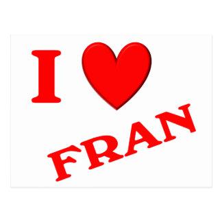 Amo a Fran Postal