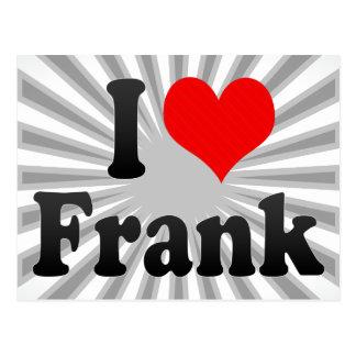 Amo a Frank Postales