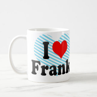 Amo a Frank Taza Clásica