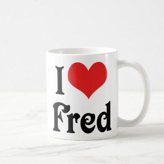 Amo a Fred Taza De Café
