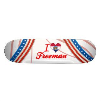 Amo a Freeman, Missouri Patines Personalizados