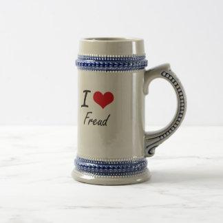 Amo a Freud Jarra De Cerveza