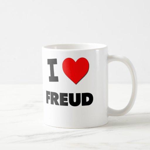 Amo a Freud Tazas De Café