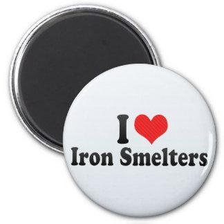 Amo a fundidores del hierro iman para frigorífico