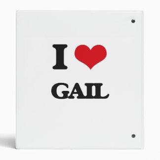 Amo a Gail Carpeta 2,5 Cm
