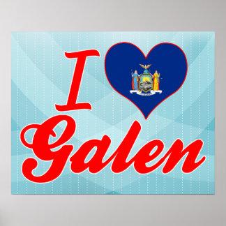 Amo a Galen, Nueva York Posters