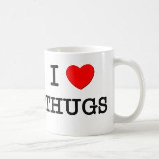 Amo a gamberros taza