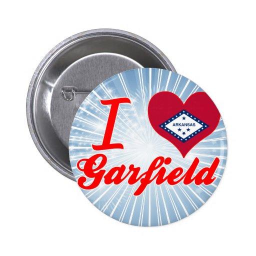Amo a Garfield, Arkansas Pin