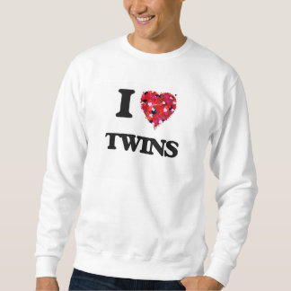 Amo a gemelos pulovers sudaderas