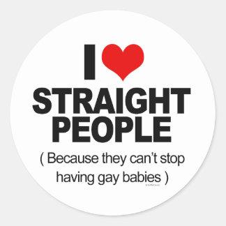 Amo a gente recta porque ella no puede parar el ha etiqueta
