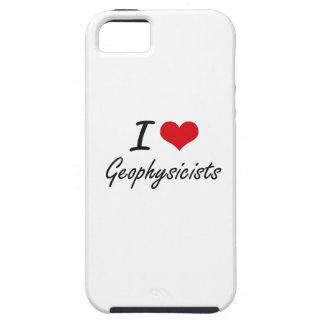 Amo a geofísicos iPhone 5 funda