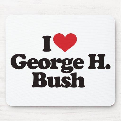 Amo a George H Bush Tapete De Raton