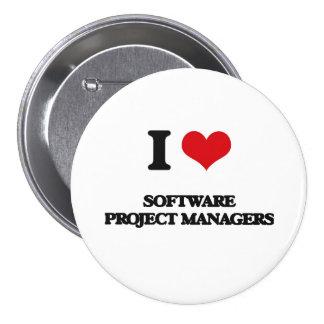 Amo a gestores de proyecto del software pin