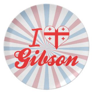 Amo a Gibson, Georgia Platos