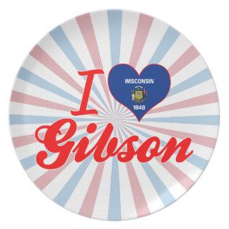 Amo a Gibson, Wisconsin Plato De Comida
