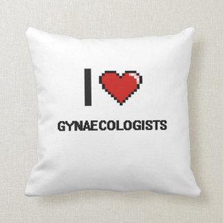 Amo a ginecólogos cojin