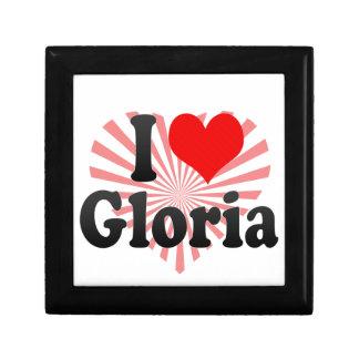 Amo a Gloria Cajas De Recuerdo