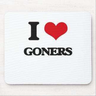 Amo a Goners Alfombrilla De Ratón
