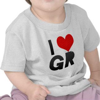 Amo a GR Camisetas