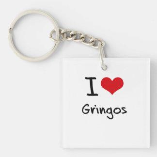 Amo a Gringos Llavero