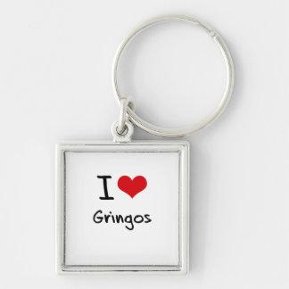 Amo a Gringos Llaveros Personalizados