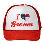 Amo a Grover, Carolina del Norte Gorra
