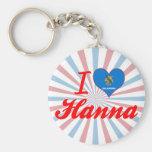 Amo a Hanna, Oklahoma Llavero