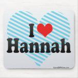 Amo a Hannah Alfombrilla De Raton