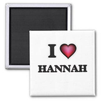 Amo a Hannah Imán Cuadrado