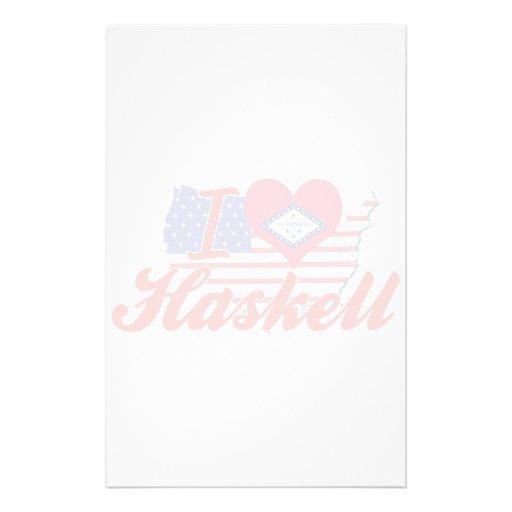 Amo a Haskell, Arkansas Papeleria
