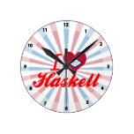 Amo a Haskell, Arkansas Reloj
