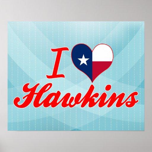 Amo a Hawkins, Tejas Impresiones