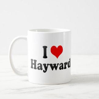Amo a Hayward, Estados Unidos Taza
