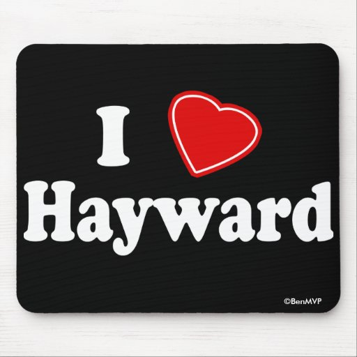Amo a Hayward Tapetes De Ratones