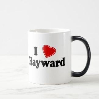 Amo a Hayward Taza Mágica