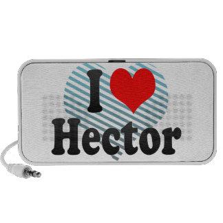 Amo a Hector iPod Altavoces
