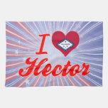 Amo a Hector, Arkansas Toalla De Mano