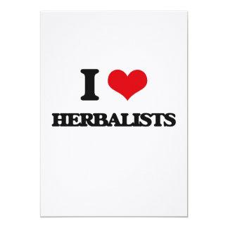 Amo a Herbalists Invitación