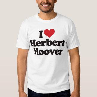 Amo a Herbert Hoover Remera