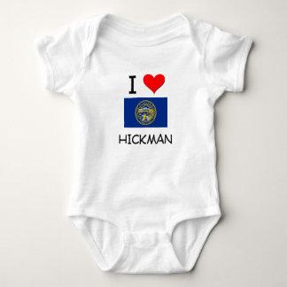 Amo a Hickman Nebraska Mameluco De Bebé